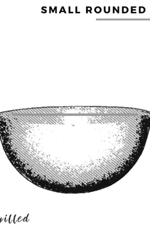 Small rounded bowl
